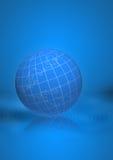 Terra azul Imagem de Stock Royalty Free