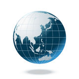 Terra azul, vetor Imagens de Stock Royalty Free