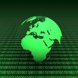 Terra binaria Fotografia Stock