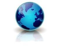 Terra blu Immagine Stock