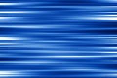 Terra blu allungata della parte posteriore della plastica Immagine Stock