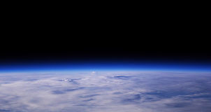 Terra blu del pianeta fotografia stock libera da diritti