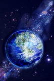 Terra bonita ilustração royalty free