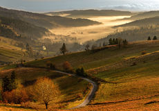 Terra bonita Eslováquia Foto de Stock Royalty Free