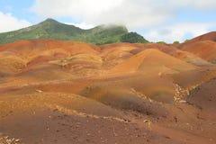 Terra colorata Fotografia Stock