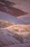 Terra colorata sette fotografia stock libera da diritti