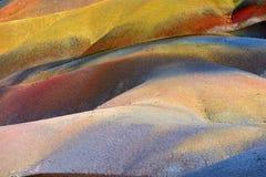 Terra colorata sette Fotografie Stock