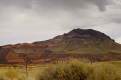 Terra colorida do Arizona Foto de Stock Royalty Free