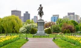 Terra comum de Boston imagens de stock