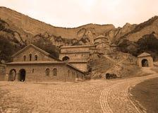 Terra comum do monastério de Shiomgwime de vista completa imagem de stock royalty free