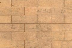 Terra Cotta Brick Background Stock Image