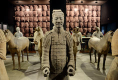 Terra-cotta figures Royalty Free Stock Photography