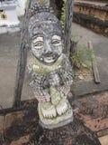 Terra Cotta figurine Wat Chai Mongkol. Weathered figurine at Wat Chai Mongkol in Chiang Mai Thailand Royalty Free Stock Images
