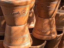 Terra Cotta planters Royalty Free Stock Image