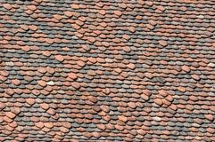 Terra cotta roof tiles texture. Retail of terra cotta roof tiles texture Stock Photo