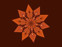 Terra Cotta Star Immagine Stock