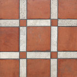 Terra cotta tiles. Background Royalty Free Stock Image