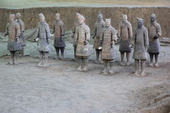 Terra cotta warrior Stock Photography