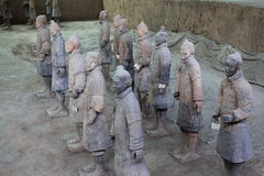 Terra cotta warrior Royalty Free Stock Images