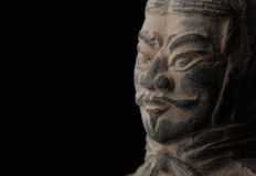 Terra cotta warriors Stock Images