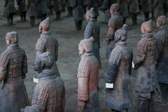 Terra Cotta Warriors Fotografia de Stock Royalty Free