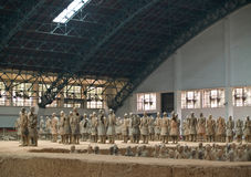 Terra-cotta warriors Royalty Free Stock Photography