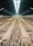 Terra-cotta warriors. In Xian, China Stock Photography