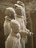 Terra-cotta warriors. Terracotta warriors in Xian, China Royalty Free Stock Photography