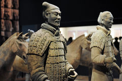Terra Cotta Warriors Royalty Free Stock Images
