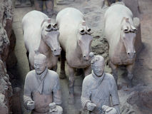 Terra-Cotta Warriors. Are The eighth wonder of the world Stock Image