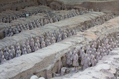 Terra-Cotta Warriors. Are The eighth wonder of the world Stock Photos