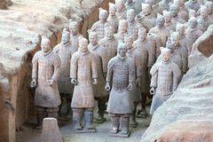 Terra-Cotta Warriors Royalty Free Stock Images