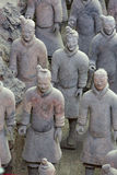 Terra-Cotta Warriors Stock Photo