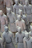 Terra-Cotta Warriors. Are The eighth wonder of the world Stock Photography