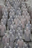 The Terra-cotta Warriors and Horses Royalty Free Stock Images