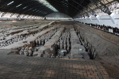 The Terra-cotta Warriors and Horses Royalty Free Stock Image