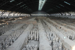 The Terra-cotta Warriors and Horses Royalty Free Stock Photo