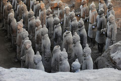 The Terra-cotta Warriors and Horses Stock Images
