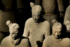 The Terra-cotta Warriors and Horses. In xian china Stock Photo
