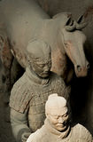 The Terra-cotta Warriors and Horses. In xian china Royalty Free Stock Photography