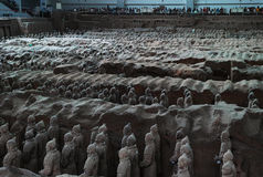 Terra-cotta Warriors and Horses Stock Images