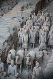 Terra Cotta Warriors and Horses Royalty Free Stock Images