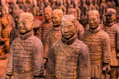 Terra Cotta Warriors Royalty Free Stock Image
