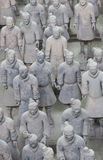Terra cotta warriors statues Stock Photos