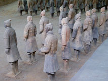 Terra cotta warriors Stock Photos