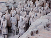 Terra cotta warriors Stock Photo