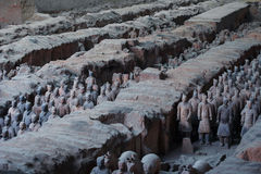 Terra Cotta Warriors. Xi'an,China.The eighth wonder of the world Stock Photo