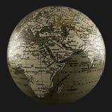 terra 3D (África) Fotografia de Stock