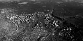 Terra da abowe Fotografia Stock
