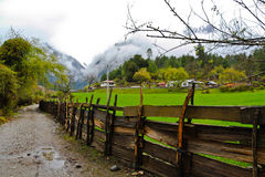 Terra da beleza idílico Fotos de Stock Royalty Free
